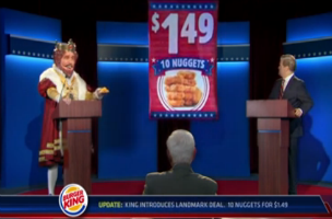 David Launches Debate Themed Spots For Burger King