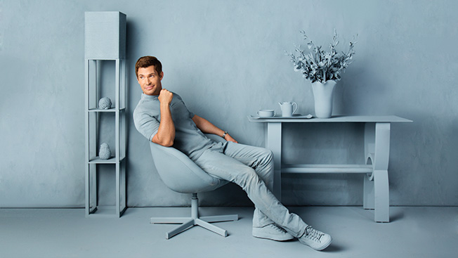 Jeff Lewis Color The Designer S Line Of Paint Features 32 Shades Including Skinny Dip Pictured