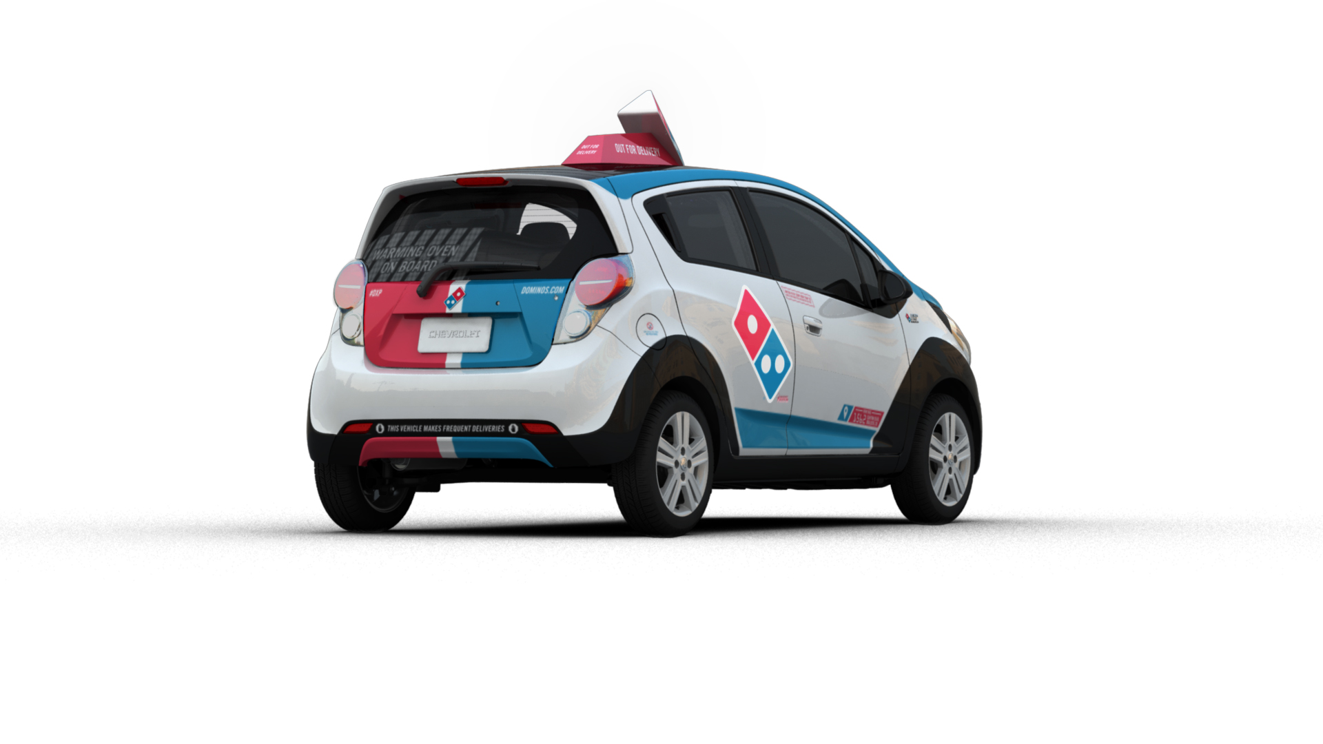 Dominos Just Unveiled A Radical Pizza Delivery Car That Took 4 Automotivepictures 4163321997sc1alternatorwirediagram1jpg Years To Build Adweek
