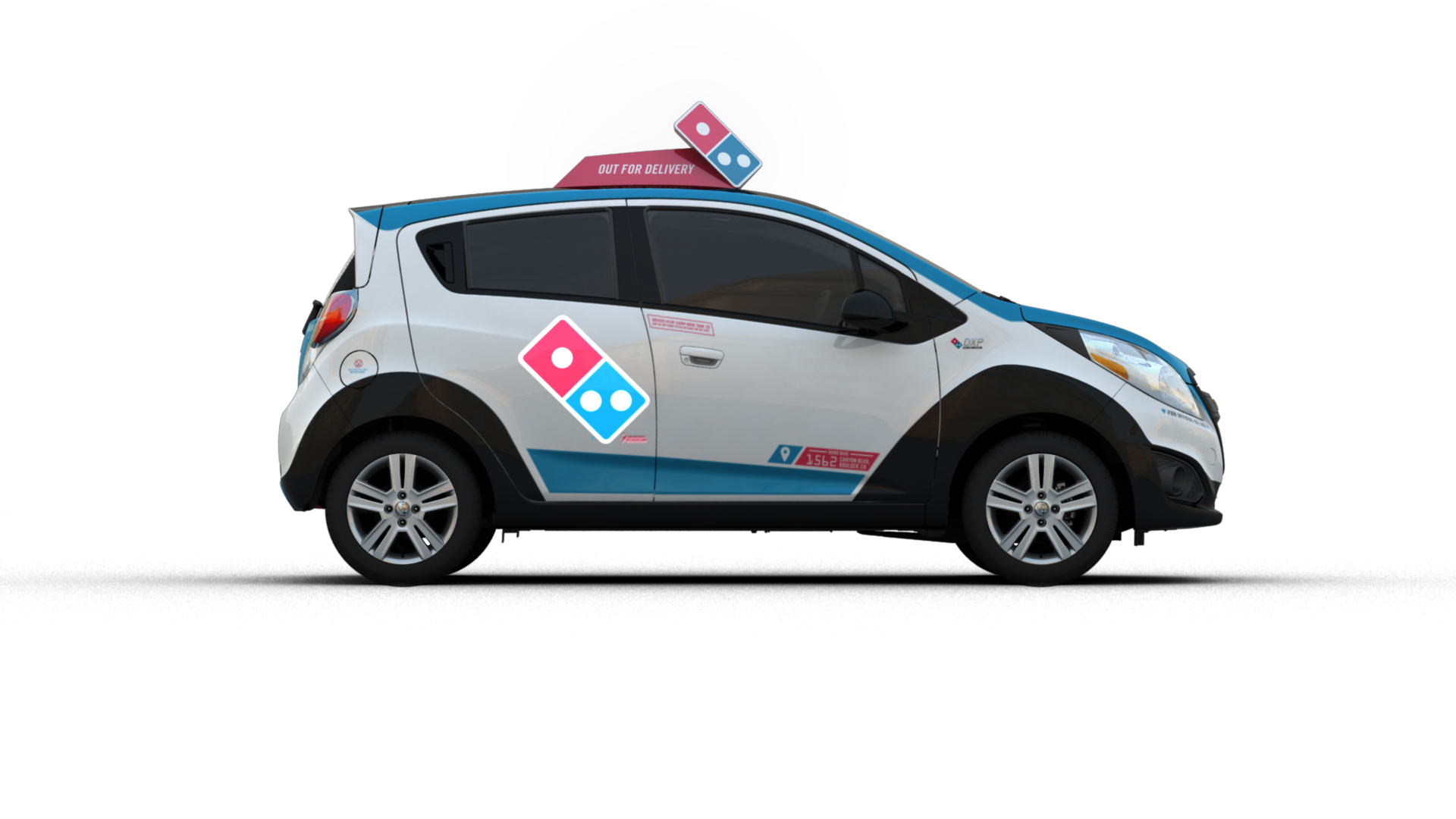Domino's Just Unveiled a Radical Pizza Delivery Car That ...