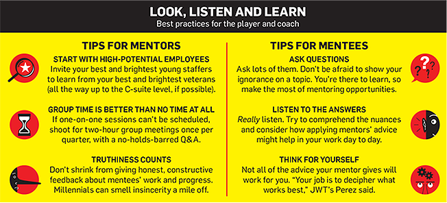 mentoring in the advertising industry tips.