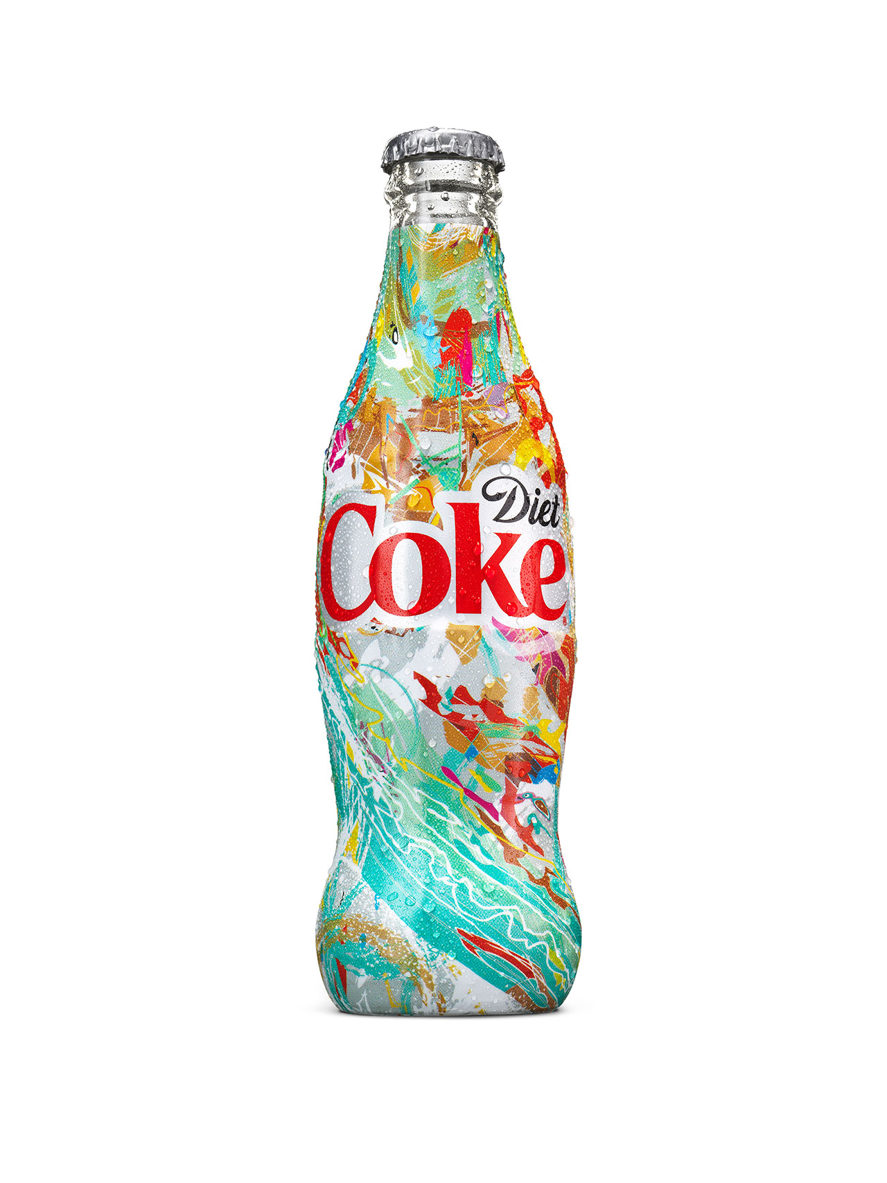 This is a photo of Resource Diet Coke Bottle Label