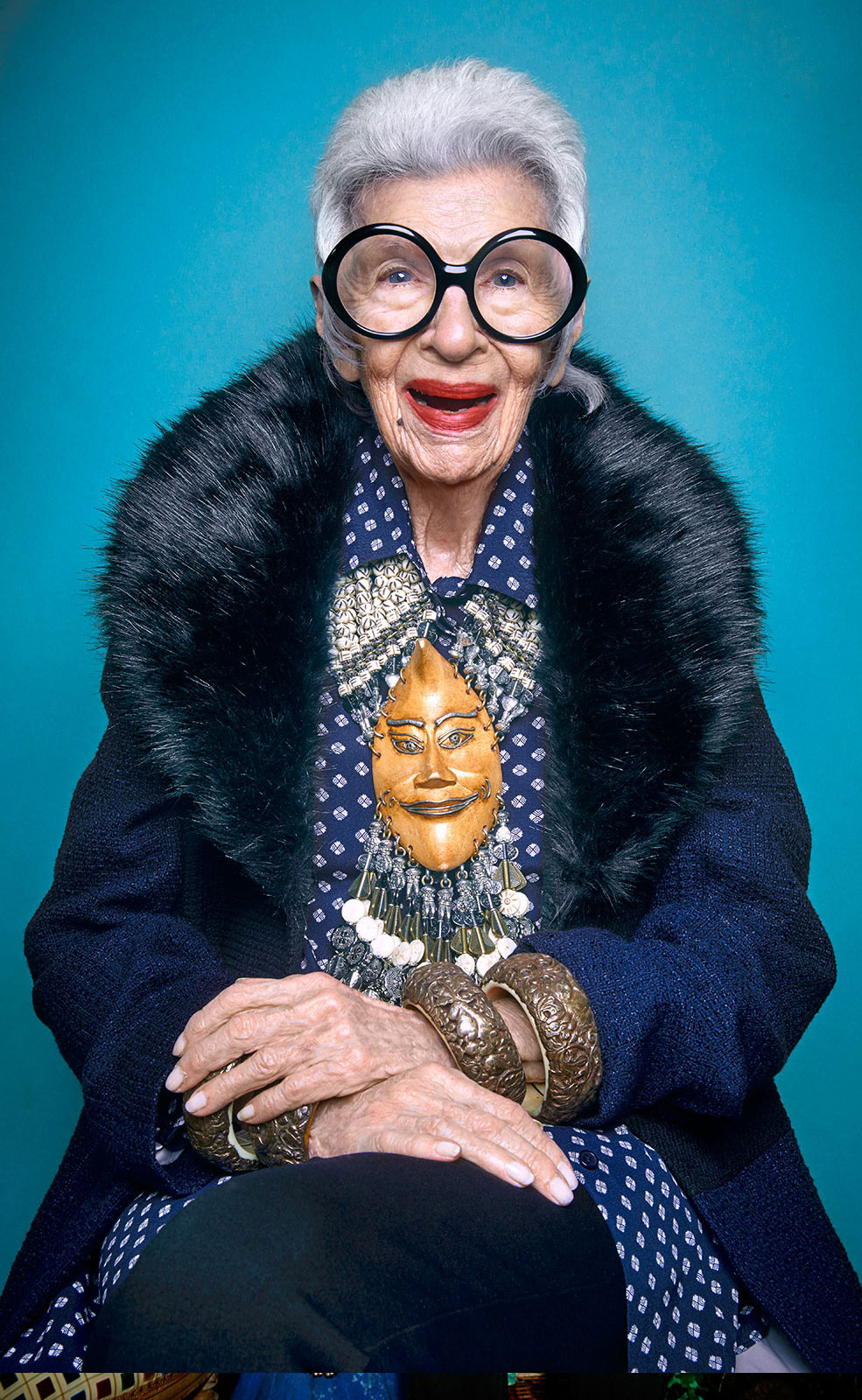 94 Year Old Iris Apfel Is Cooler Than You Ll Ever Be As The New Face Of Two Brands