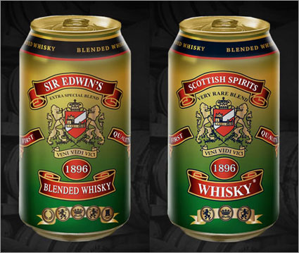 Whisky-in-a-can
