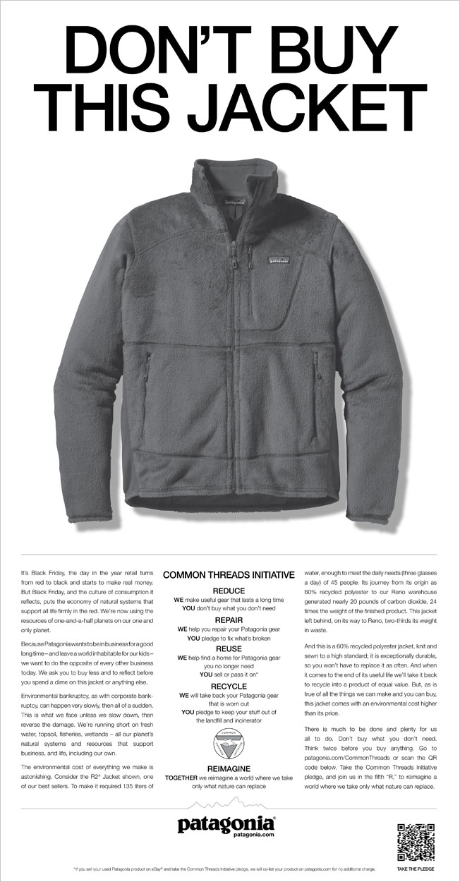 Ad Of The Day Patagonia Adweek