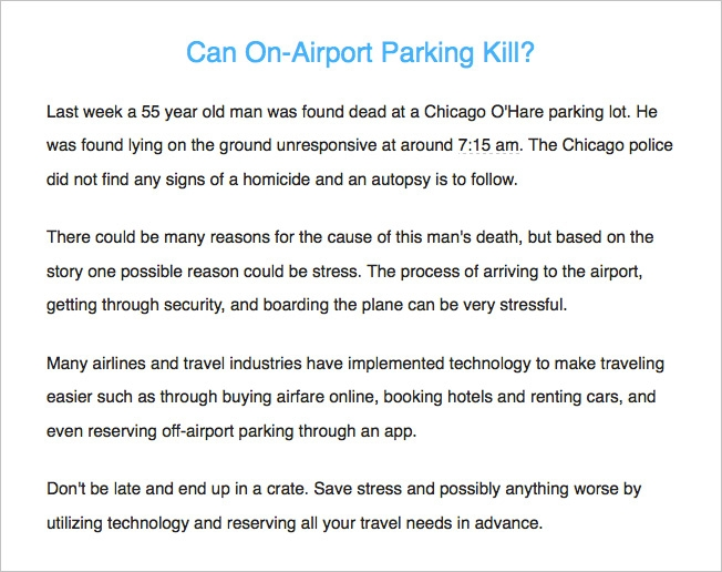 Airport parking company apologizes for using a mans death as a subscribers were furious and took the brand to task via email and social a lackluster follow up apology was emailed out and posted to the website altavistaventures Images