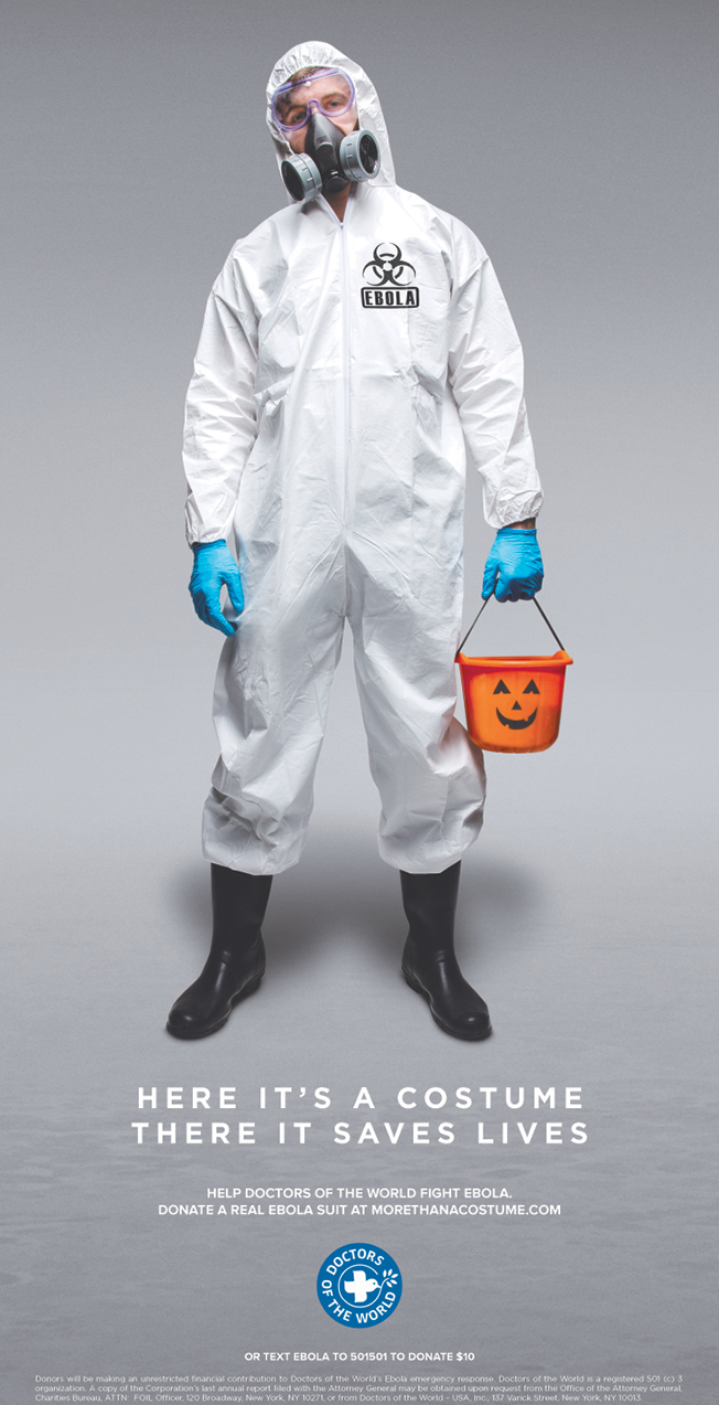 wearing a fake ebola hazmat suit for halloween  donate a real one instead  u2013 adweek
