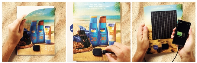 Now, the Nivea Sun solar charger has earned FCB Brazil Adweek's second annual Project Isaac Gravity Award celebrating the ...