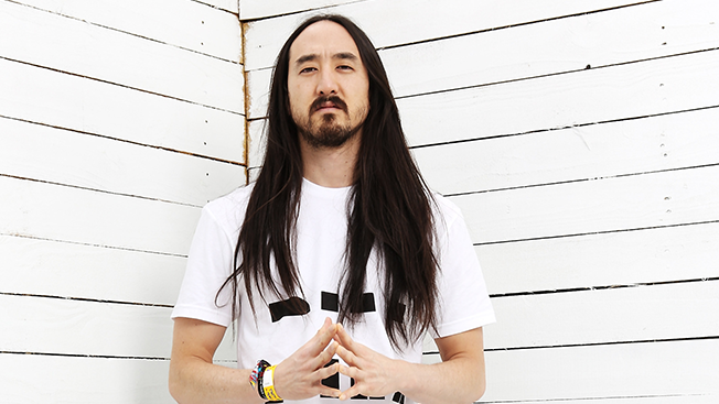 Electronic artist and producer Steve Aoki has worked with Toyota-owned creative agency Scion AV for over ten years. (Photo by Roger Kisby/Getty Images)