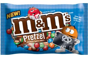 Image result for pretzel m&ms