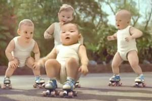 0fc06f3a2 Evian Replenishes Brand with Break-Dancing Babies – Adweek