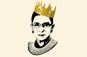 cover revealed for the notorious rbg book galleycat
