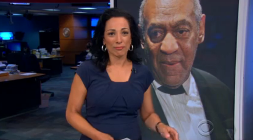 was michelle miller really holding back tears on cbs evening news