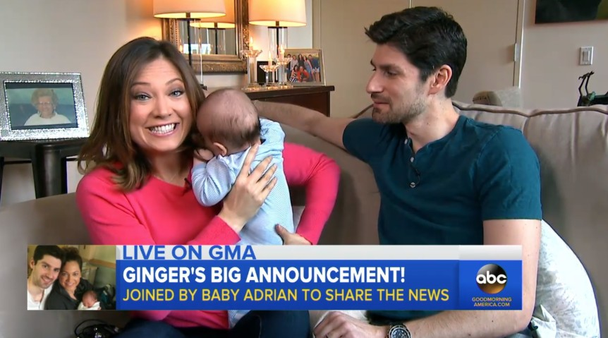 Is Ginger Zee Pregnancy Announcement >> Ginger Zee Announces Her Return To Gma Tvnewser