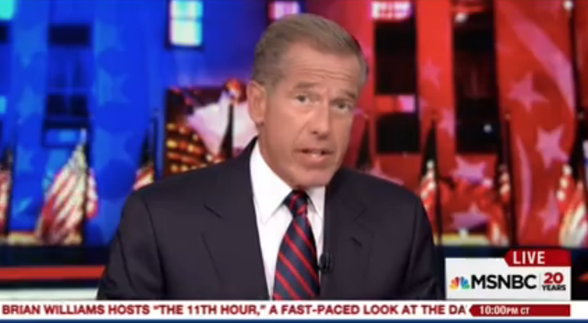 where will brian williams go after the 11th hour tvnewser