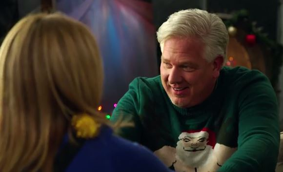 Christmas Sweater By Glenn Beck.Glenn Beck Samantha Bee In Christmas Sweaters Seek Peace