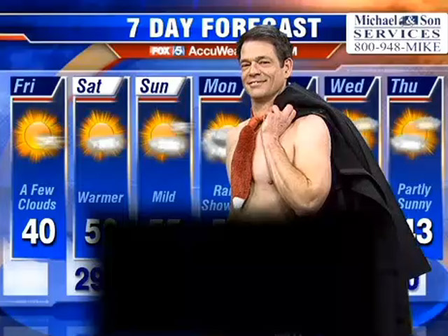 WTTG Celebrates Working Naked Day! Weather in the Almost