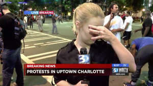 How Did Charlotte's Stations First Cover Violent Protests