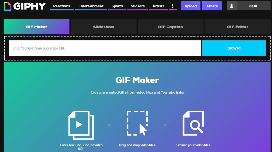 Giphy GIF Maker Lets Mobile Web Users Create GIFs Without an
