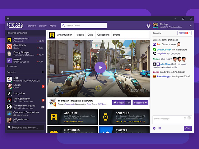 Twitch Launched A Desktop App With Voice Video Calling