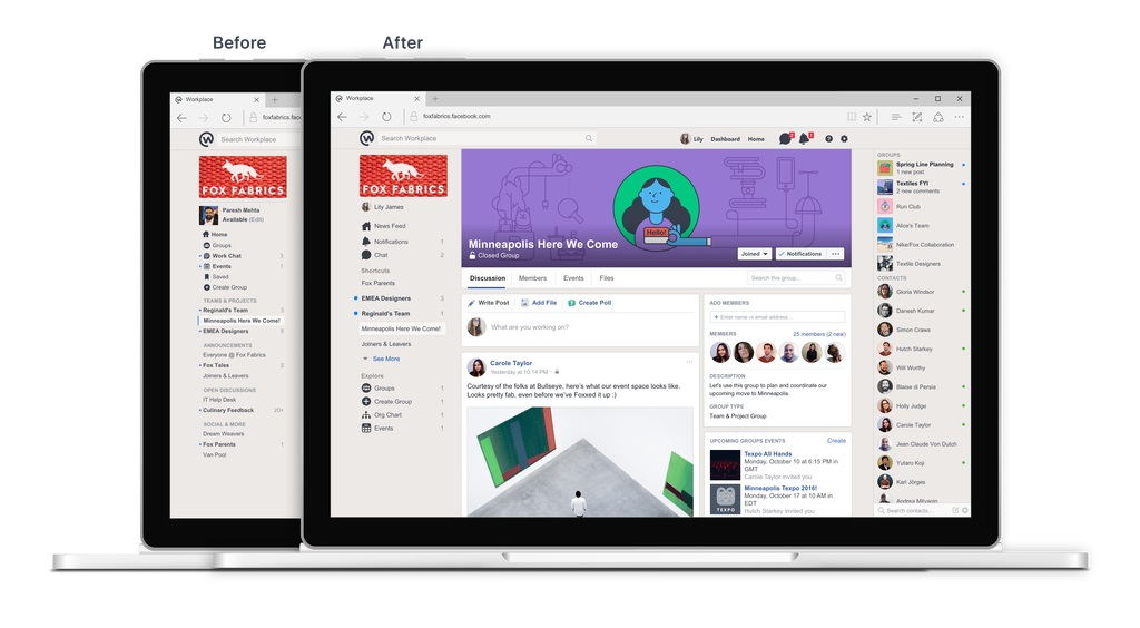 Workplace by Facebook Marked Its Anniversary With Several Updates