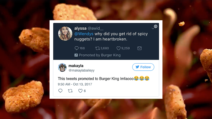 Burger King Dug Up A Bunch Of Tweets From People Complaining About Wendy S And Turned Them Into Ads