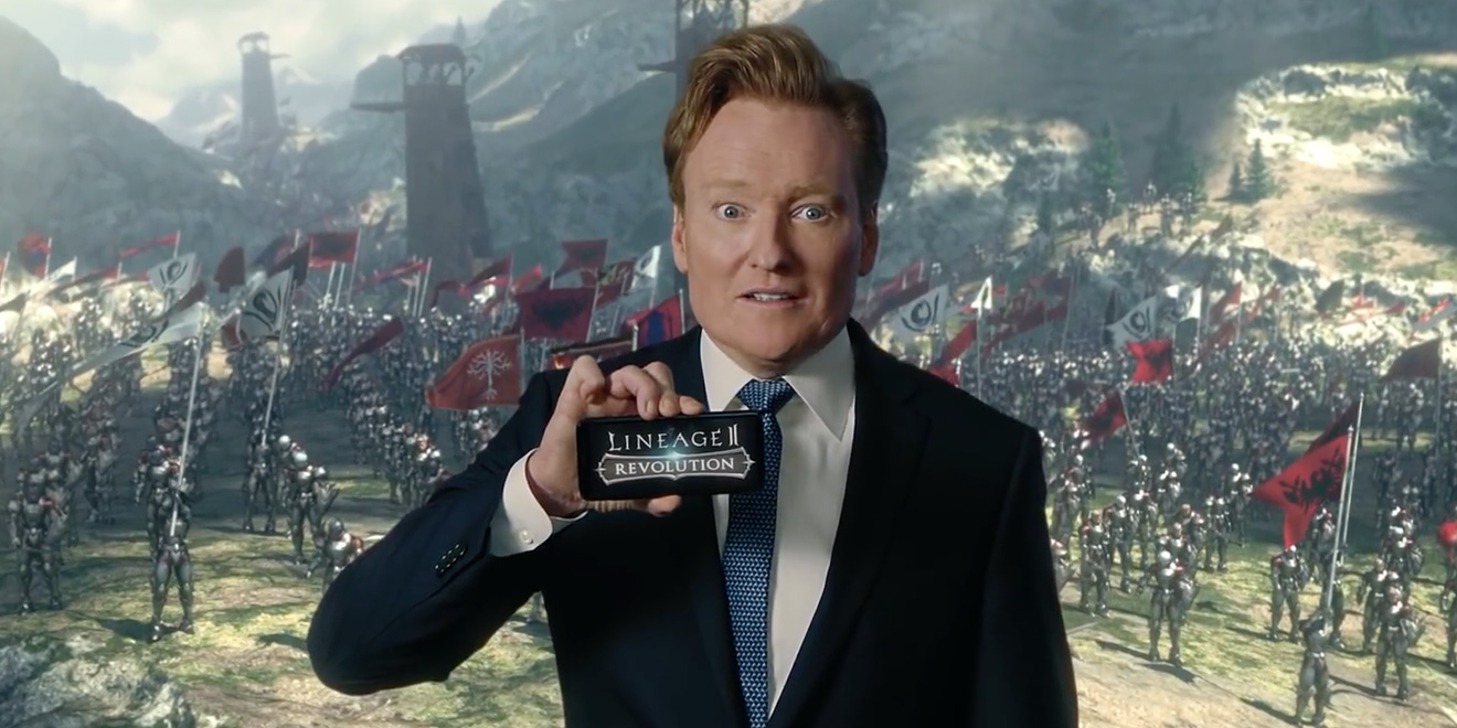 Conan O'Brien Beats Up Fantasy Cosplayers in Bonkers Ads for