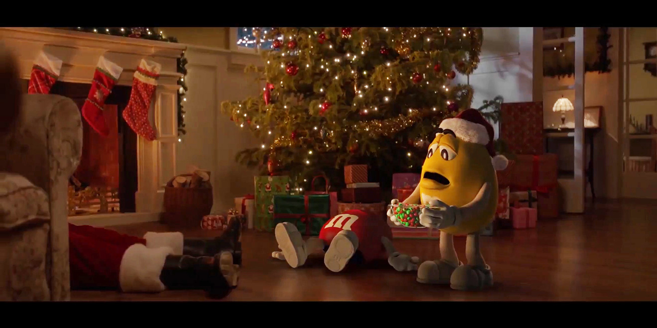 21 Years Later M M S Unwraps A Sequel To Its Classic Christmas Ad