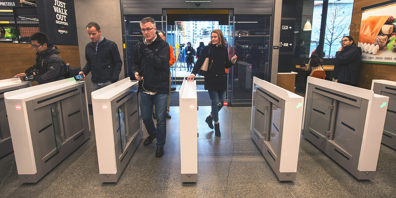 Amazon Go Opened In Seattle On January 22.