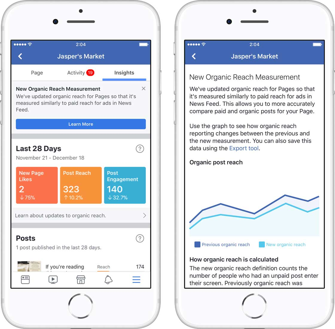How Facebook Is Changing the Way It Reports Organic Reach