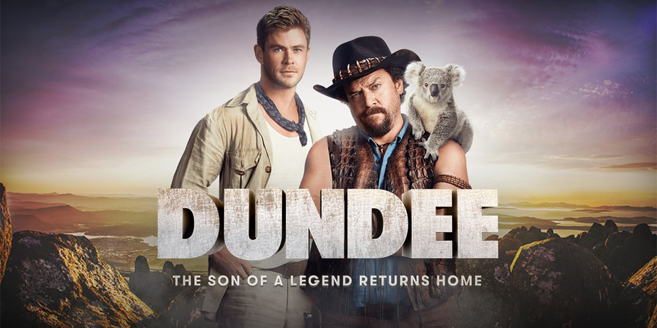 c4ae9af385ae Chris Hemsworth and Danny McBride starred in the Super Bowl ad—there s no  movie—from Tourism Australia.