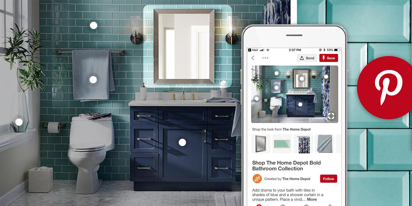 Home Depot Is Building Out Visual Discovery and Shopping on Pinterest