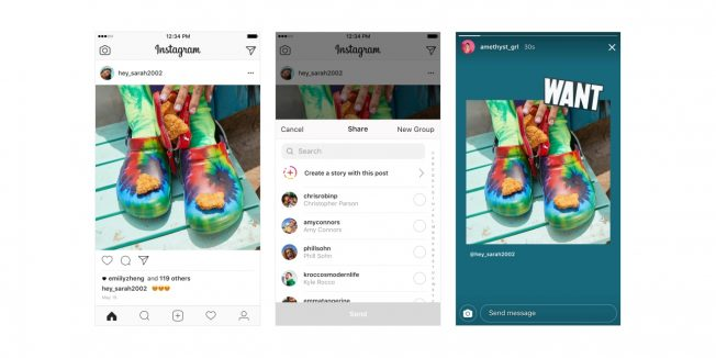 This image shows various Instagram posts.