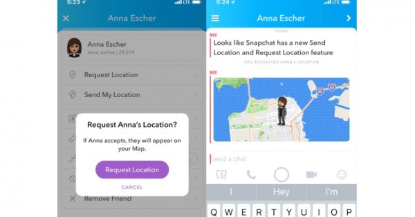 Snapchat Quietly Rolled Out a New Way for Friends to Share Their Locations