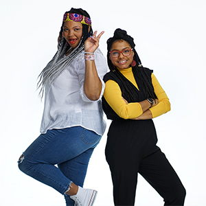 Photo of Shannon Ross and Kenia Perez