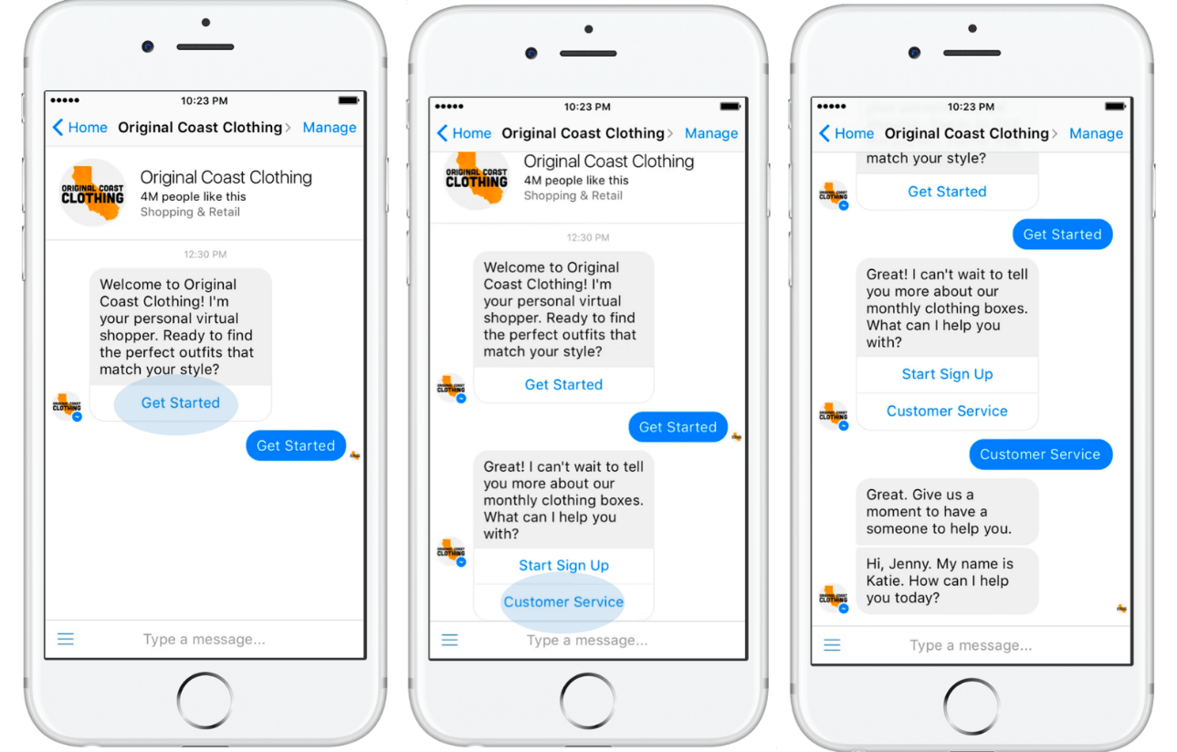 Enriching Customers' Messenger Experience With Facebook's