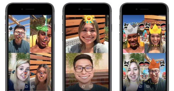 Multiplayer AR Games Have Come to Facebook Messenger Video Chat