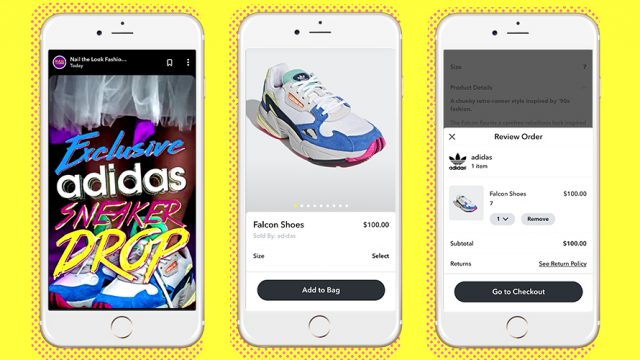 6af8cca74afe4 Snapchat s Latest Ecommerce Play Sells Out Again—This Time With Adidas