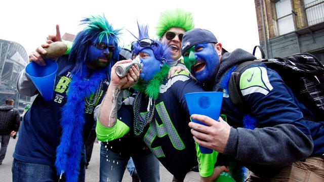 Seahawks Fans Can Now Get Beer With Their Fingerprints