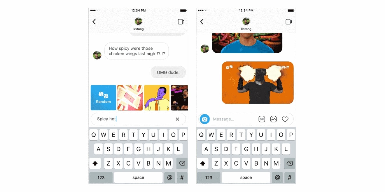 Instagram Here S How To Share A Gif In A Direct Message Adweek