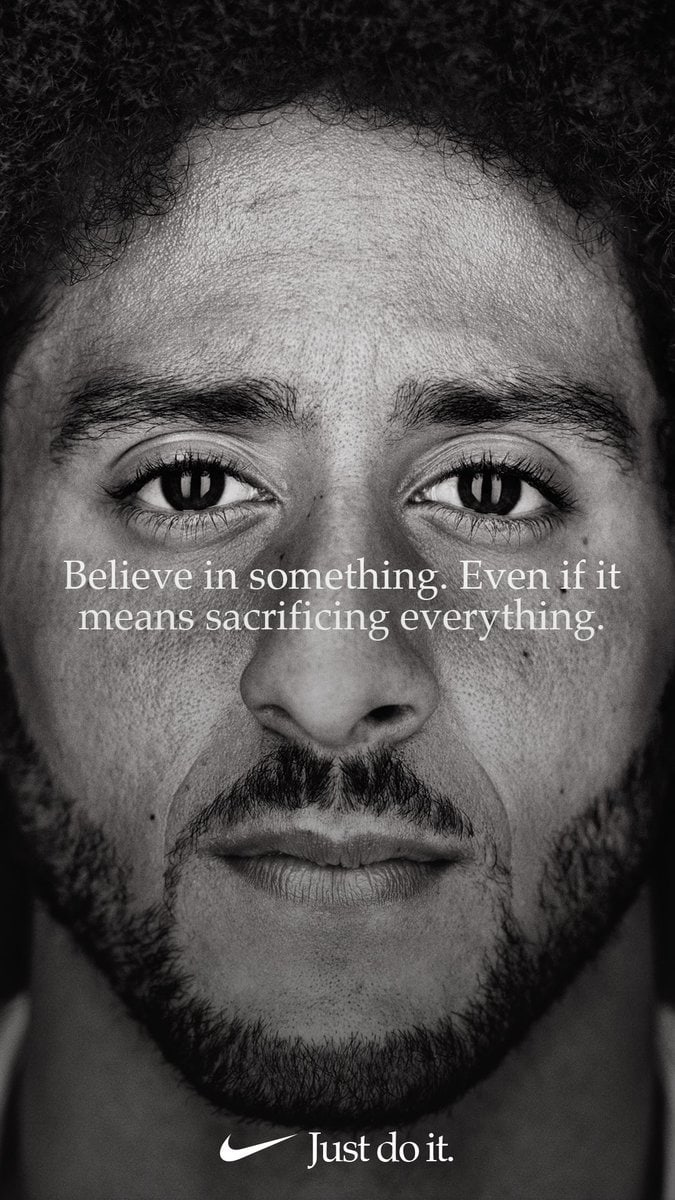 "990c779404157 Nike s decision to kick off the 30th anniversary of the tagline ""Just Do  It"" with an ad featuring polarizing quarterback Colin Kaepernick was one  that"