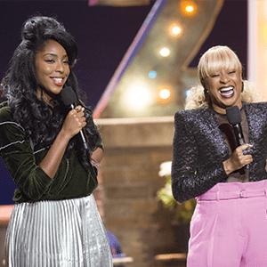 Photo of 2 Dope Queens: Jessica Williams and Phoebe Robinson
