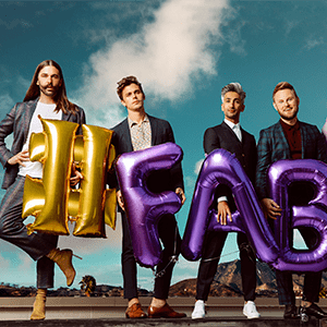 Photo of Queer Eye's Fab Five