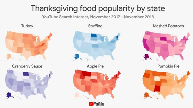 How People Are Using YouTube to Begin Planning Their Thanksgiving Feasts