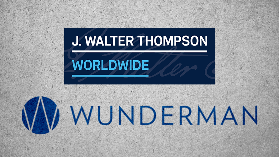 J. Walter Thompson and Wunderman logos