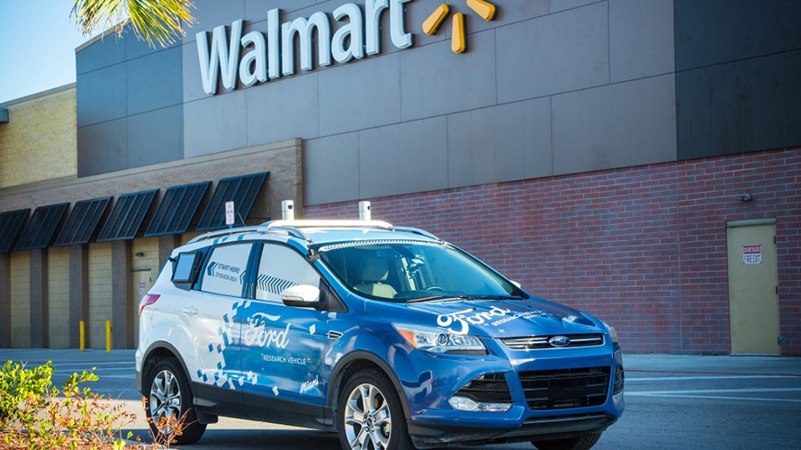 Walmart and Ford Are Testing Autonomous Delivery in Miami