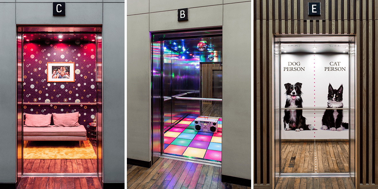 This London Agency Gave People a Lift by Redesigning Their