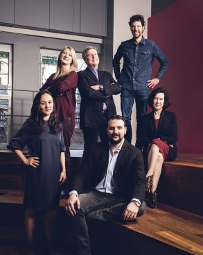 (L. to r.) Chrissie Hanson, global chief strategy officer; Kate Stephenson, global chief operating officer; John Osborn, U.S. CEO; Israel Mirsky, executive director, global technology and new platforms; Florian Adamski, global CEO; and Monica Karo, global chief client officer