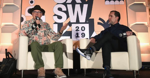 Legendary Nike Designer Tinker Hatfield Gave Away the Shoes on His Feet at SXSW