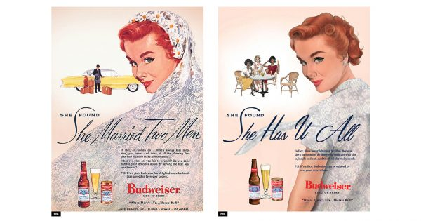 For Women's Day, Budweiser Revived and Reimagined 3 of Its Ads From the 1950s